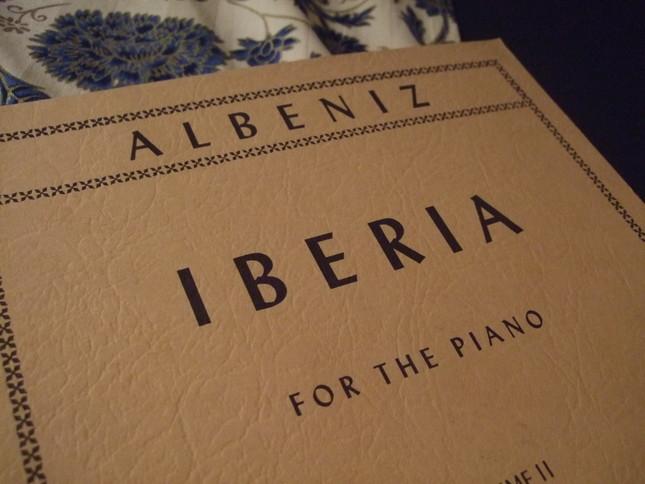 イベリアの楽譜