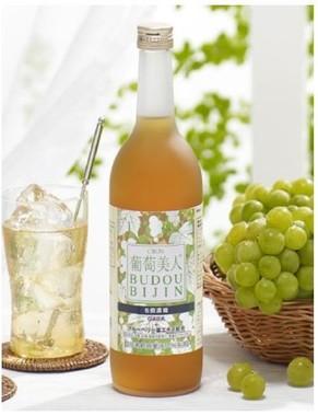 みずみずしい味わいの白葡萄・ナイアガラ味
