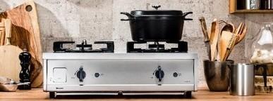 プロ厨房のようなステンレスボディ! 人気のインターネット販売限定コンロ第3弾(写真はイメージ)