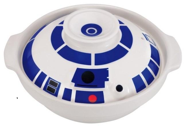 B賞「R2-D2」イメージの土鍋