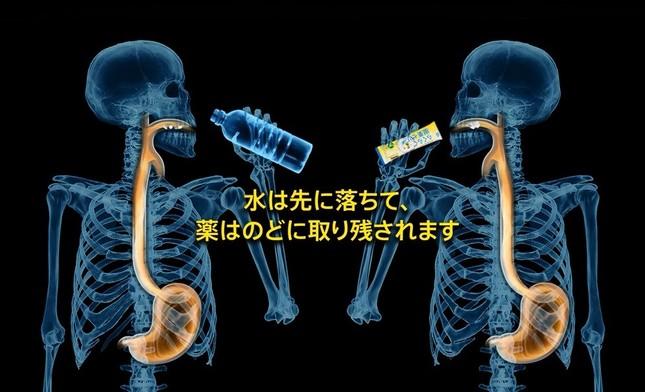 「らくらく服薬ゼリー」サンプリングキャンペーンサイトの画像