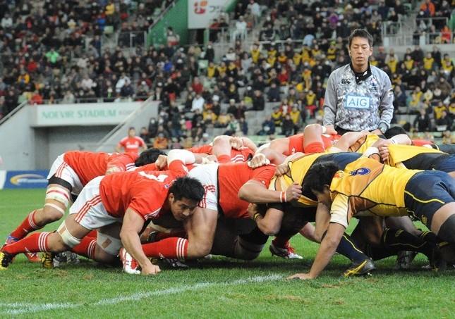2019年のラグビーW杯の開催都市に決定している神戸。トップリーグの神戸製鋼戦を元日本代表の平尾剛さんが「面白く、初心者にわかりやすく、選手の立場を交えて」解説