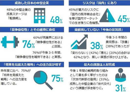 「中堅企業調査レポート2015」サマリー