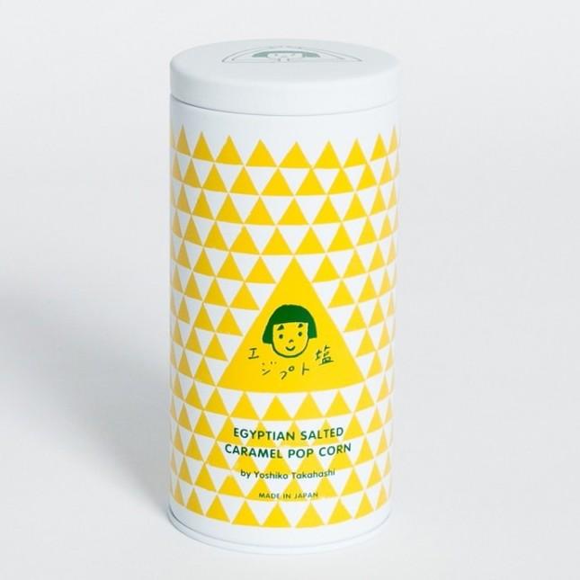 オリジナルグラフィックの缶はエジプトをイメージ