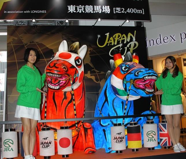 15年11月23日、渋谷駅構内に「ねぶた風馬の像」が出現!