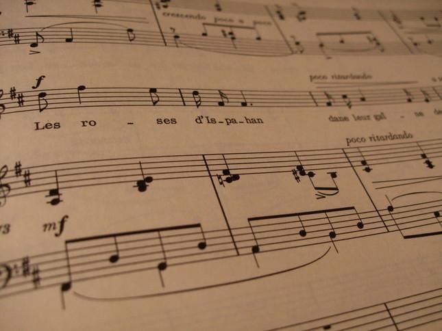 フォーレの楽譜はシンプルかつ美しい