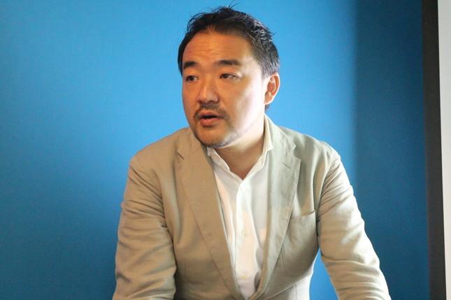 「建物に大きな工事を施さなくても良いリノベーションが出来る」と語る白井氏