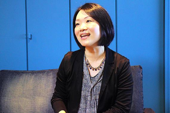 中澤さんは「日本に内装ペイント文化をもっと普及させたい」と意気込む