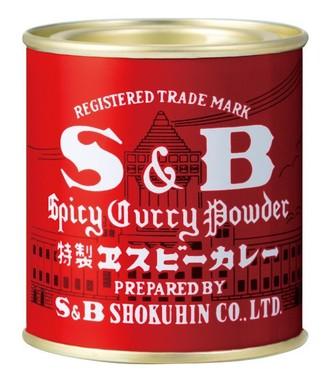 赤缶カレー粉は60年以上のロングセラー