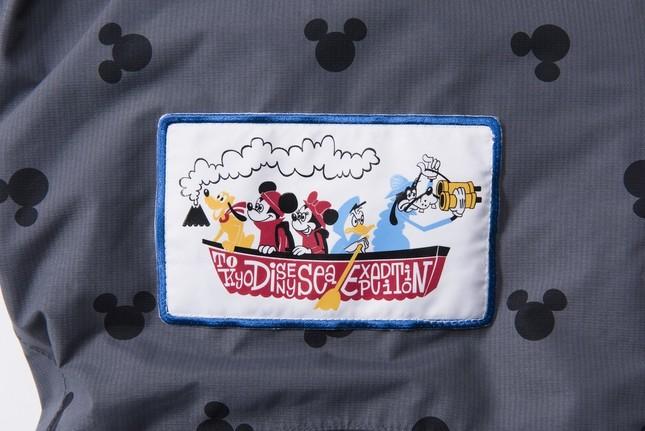 ディズニーキャラクターがデザインされたワッペン(C)Disney