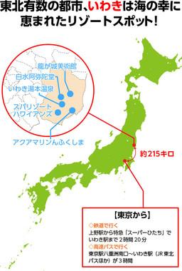 観光名所のすごろくマップを作成できる 福島県いわき市の新 ...