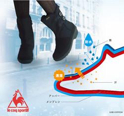 高い防水性と透湿性で快適さを保つ