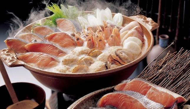 北海道の石狩鍋