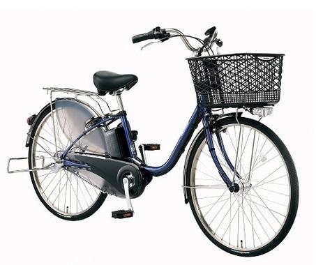 次世代「リチウムイオンバッテリー」搭載の電動アシスト自転車(写真は、「ビビ・EX BE‐ELE432/632」)