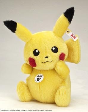 熟練した職人により作られ、高品質の証であるボタンとタグが付いている 【ポケットモンスター】 (C)Nintendo・Creatures・GAME FREAK・TV Tokyo・ShoPro・JR Kikaku (C)Poke(*)mon (*正式表記はeの上に´)