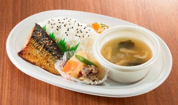 鯖のみりん焼き定食