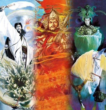 イラストは武将画家として人気の高い正子公也氏によるデザイン