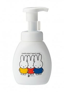 薬用ハンドソープ lllustrations Dick Bruna c copyright Mercis bv,1953-2015 www.miffy.com