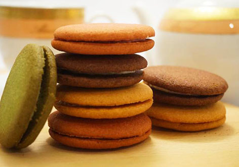 新発売の3種のクッキー