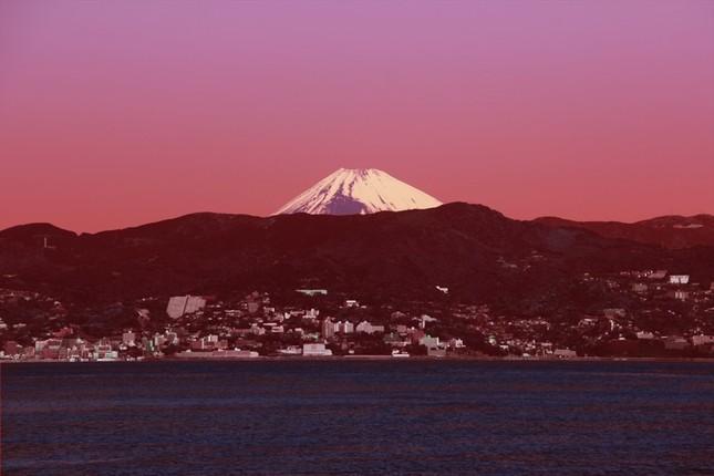 天候によっては富士山を見ることもできる
