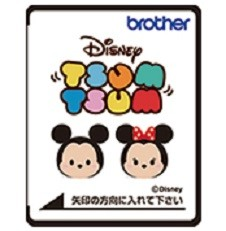(C)Disney刺しゅうカード「ディズニー ツムツム」