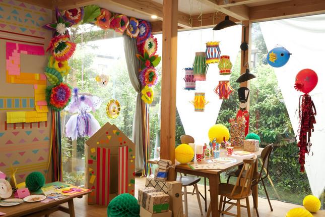 幼稚園や学校行事、家での集まりにも役立つ飾りつけアイテムの作り方&型紙つき