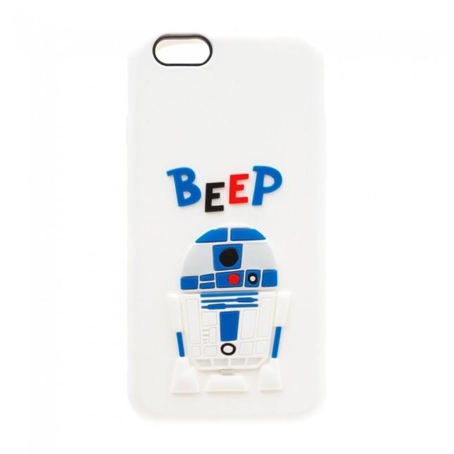 「iPhone 6s/6用 シリコンケース R2-D2」