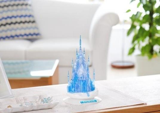 ディズニーのお城を作って飾れるシリーズ第1弾