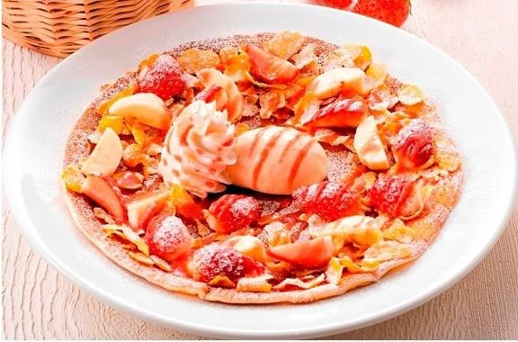 苺のガレット