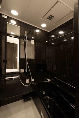 高濃度酸素水でリラックスできるシャワールーム