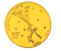 「王子さまの旅立ち」200ユーロ金貨