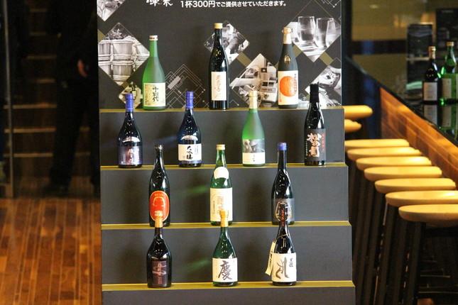 良質な日本酒をお手頃価格で提供