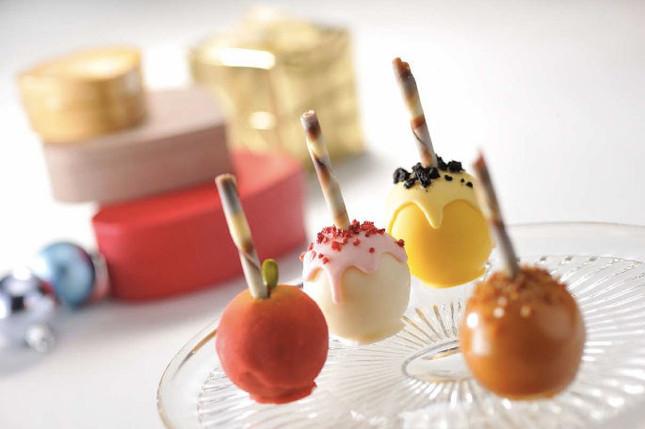 ロリポップキャンディのような可愛らしいスイーツ