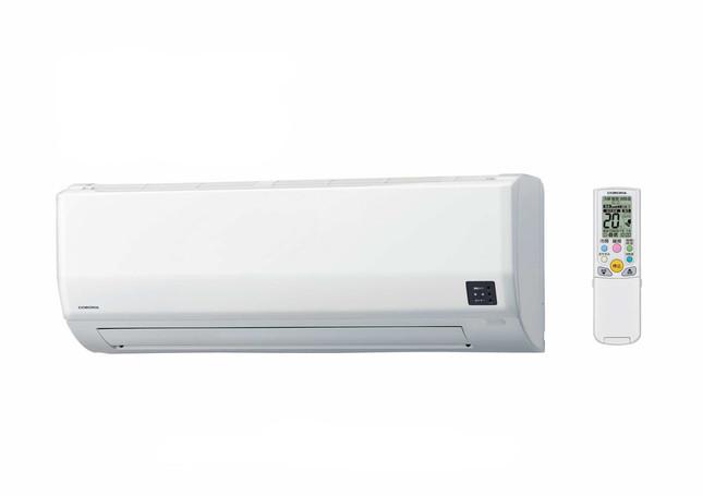 室外機ヒーター搭載、寒い地域でも快適暖房
