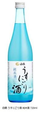 白鶴 うすにごり酒 純米酒 720ml