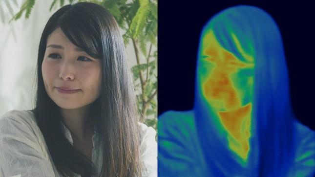 顔周辺は感情で温度差が出やすい