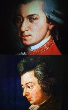有名なモーツアルトの肖像画たち