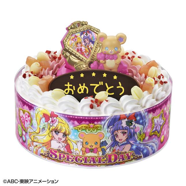 「プリキュア」新シリーズのキャラデコケーキが登場