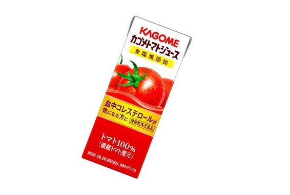 新発売の「カゴメトマトジュース」(200ml)は食塩無添加