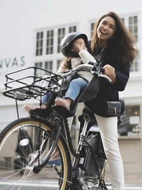 「ハンサムなデザインの子供乗せ自転車がほしい」との声に応えた!(写真は、イメージ)