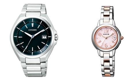 就職活動からビジネスシーンまで幅広く使用できるシンプルデザインの腕時計