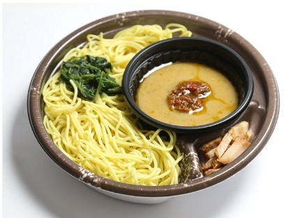 「バジル味噌つけ麺」
