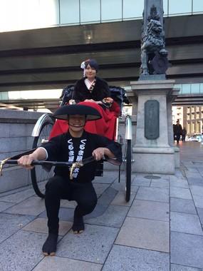 桜フェスティバル初となる「人力車」も運行予定