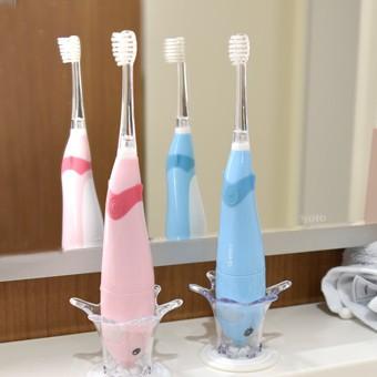 「メロディー付音波式電動歯ブラシ」