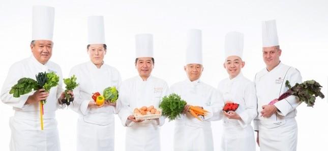 神戸の6ホテルの総料理長が集結