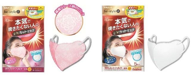 暑さ・ムレを防いで快適にUVカットできる紫外線対策マスク登場!