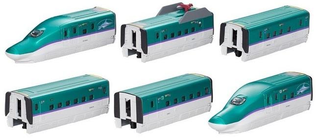 「北海道新幹線H5系Aセット」と「Bセット」