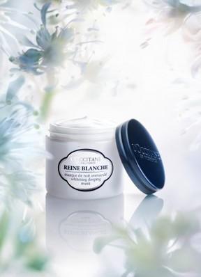 眠るほどに肌本来の美しさを引き出す ロクシタン美白シリーズ「レーヌブランシュ」から夜美容アイテム発売