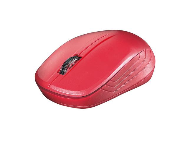 機能を絞ったベーシックマウス 用途に応じて無線/有線を選べる