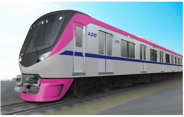 京王電鉄の新型車両「5000系」のイメージ